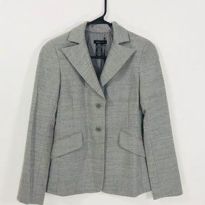 BSBG XXS grey two pocket woman's blazer